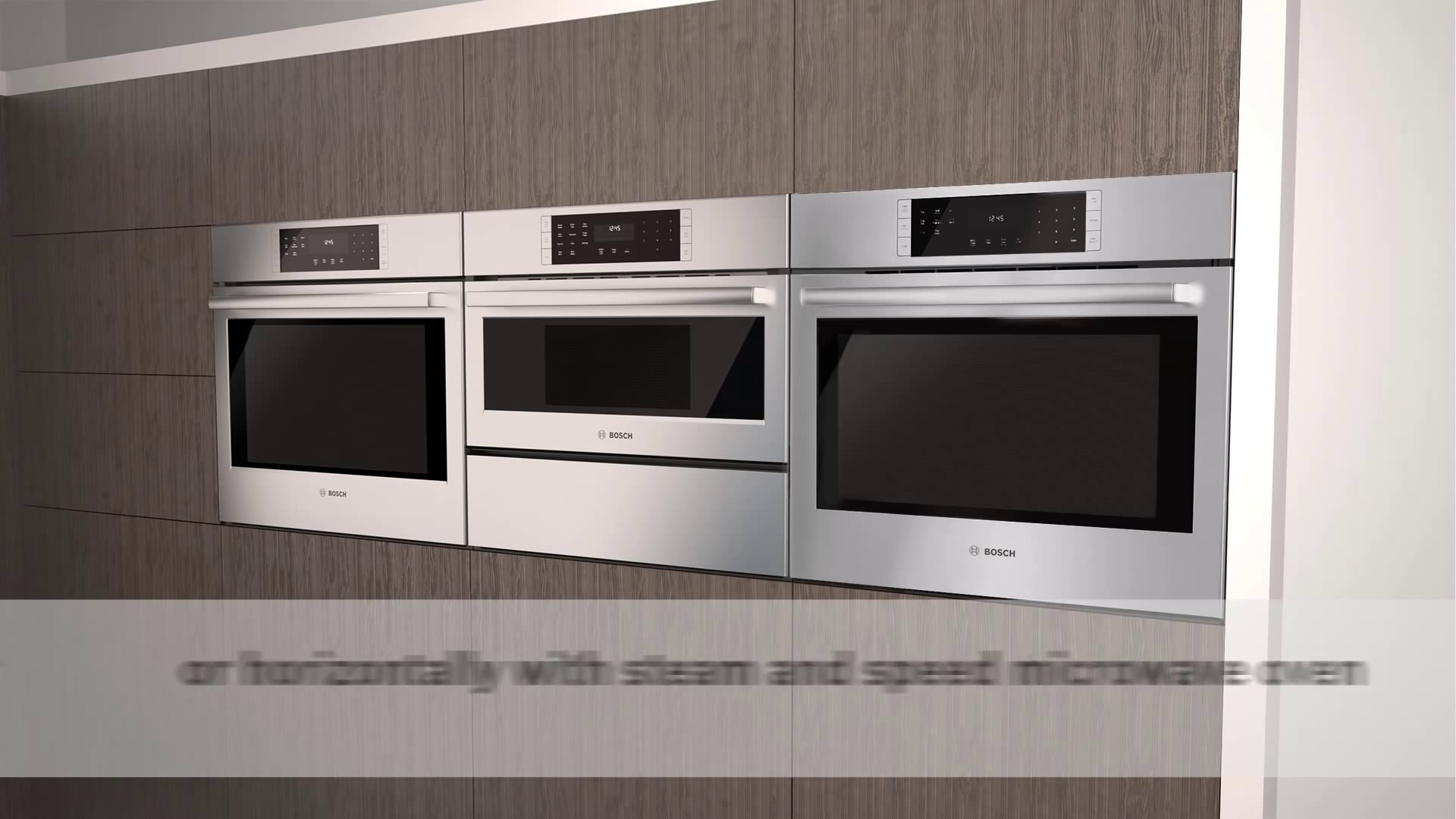 Bosch Built-In Wall Ovens