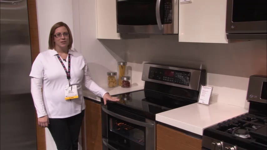 LG Appliances: Double Oven and Microwave