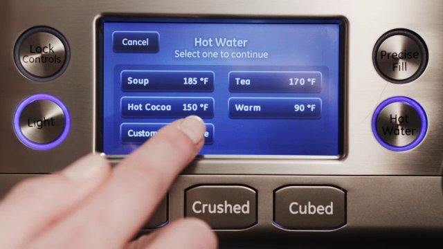 GE Refrigerator: How To Use The Controls