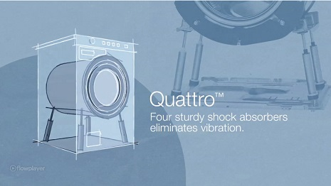 ASKO Laundry Active Drum Feature