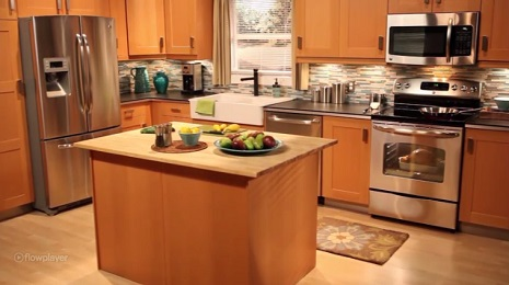 GE Full Kitchen: Electric