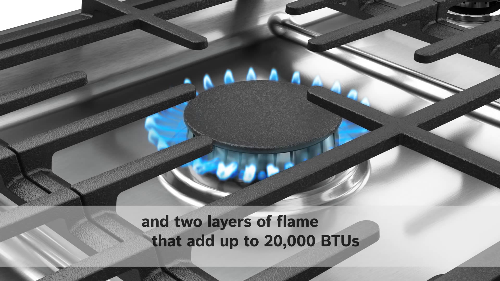 Bosch Dual-Stacked Gas Burner